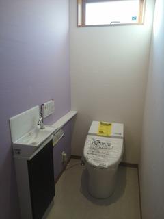 トイレ【浜松市浜北区U様邸】